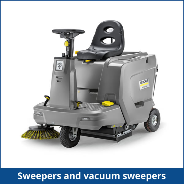 Sweepers and vacuum sweepers