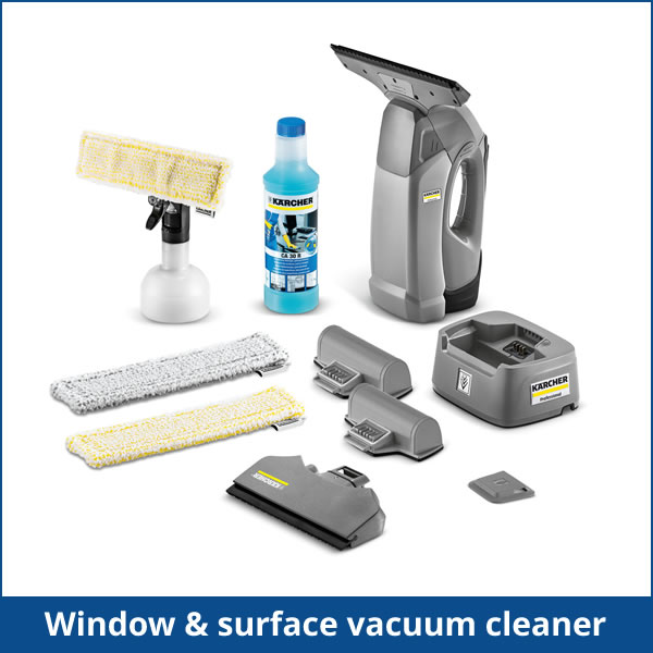 window and surface vacuum cleaner